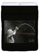 Forsyth Fountain Closeup Duvet Cover