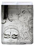 Cochin Graffiti Duvet Cover