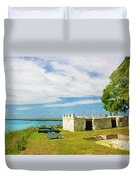 Fort Frederica Duvet Cover