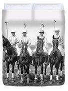 Fort Hamilton Polo Team Duvet Cover