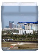 Fort Lauderdale Hollywood International Airport Duvet Cover