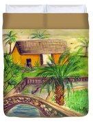 Fort Lauderdale Manistee Duvet Cover