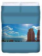 Fort Lauderdale Ocean View Duvet Cover