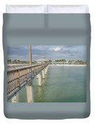 Fort Myers Beach Duvet Cover