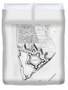 Fort Pitt, 1761 Duvet Cover