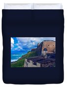 Fort San Cristobal Duvet Cover