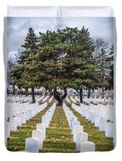 Fort Snelling National Cemetery Duvet Cover