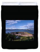 Fort Wadsworth Duvet Cover