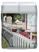 Fort Worth B Cycle 2 Duvet Cover