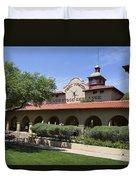 Fort Worth Livestock Exchange Texas Duvet Cover