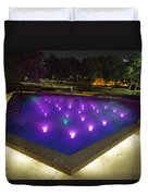 Fort Worth Water Garden Aerated Pool Duvet Cover
