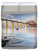 Forth Railway Bridge Duvet Cover