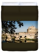 Fortress And Bridge Duvet Cover