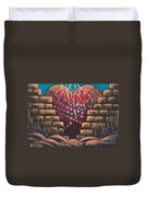 Fortress Around Your Heart Duvet Cover