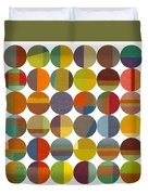 Forty Eight Circles 2.0 Duvet Cover
