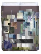 Forty Nine Shades Of Gray II Duvet Cover
