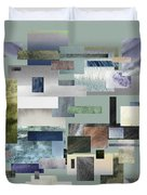 Forty Nine Shades Of Gray IIi Duvet Cover