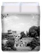 Forum Romanum Rome Italy Duvet Cover