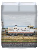 Foster Farms Locomotive Duvet Cover