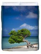 Fototi Tree - Aruba Duvet Cover