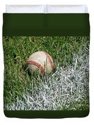 Foul Ball Duvet Cover