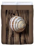 Found Sea Shell Duvet Cover by Garry Gay