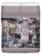 Foundry Workers Duvet Cover