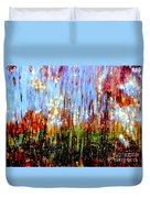Water Fountain Abstract 3 Duvet Cover