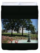 Fountain At Capitol Square  Duvet Cover