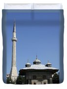 Fountain Of Ahmet IIi - Istanbul Duvet Cover