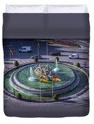 Fountain Of Cebeles II Duvet Cover