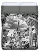 Fountain Of The Gods Duvet Cover