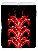 Fountains Of Fire Duvet Cover