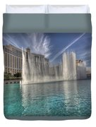 Fountains Of Paradise Duvet Cover