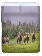 Four Brothers Duvet Cover