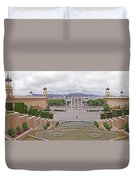 Four Columns And Magic Fountain Duvet Cover