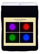 Four Heavenly Bodies Duvet Cover