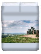 Four Standing Stones On The Clent Hills Duvet Cover
