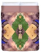 Four Towers Sigil Duvet Cover