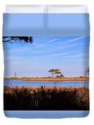 Four Trees H Duvet Cover