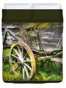 Four Wheels But No Horse Duvet Cover by Heiko Koehrer-Wagner