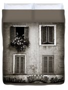Four Windows Duvet Cover