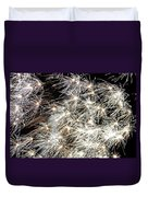 Fourth Of July Fireworks Duvet Cover by Kim Bemis