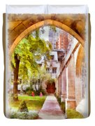 Fourth Presbyterian - A Chicago Sanctuary Duvet Cover by Christine Till