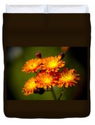 Fox-and-cubs Duvet Cover