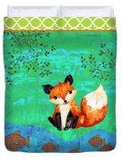 Fox-c Duvet Cover