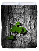 Fox Grape On Pine Duvet Cover