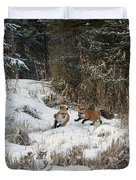 Fox Hollow Duvet Cover