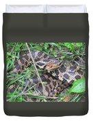 Fox Snake Duvet Cover