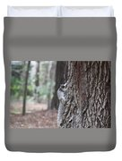 Fox Squirrel Vertical Duvet Cover